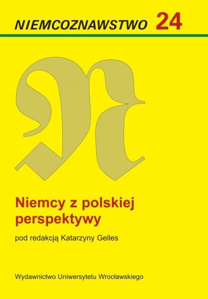 """image: Ukazał się 24 tom """"Niemcoznawstwa""""..."""
